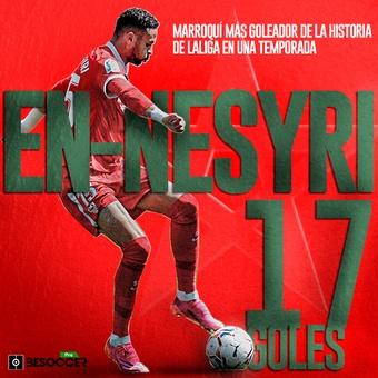 En Nesyri, marroquí más goleador de la historia de , 22/04/2021