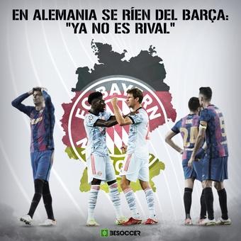 En Alemania se ríen del Barça, 15/09/2021