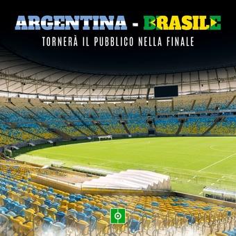 Final copa america publico, 10/07/2021