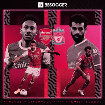 Previa Arsenal v Liverpool, 03/04/2021