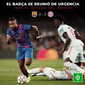 Cumbre de urgencia en el Barça, 15/09/2021