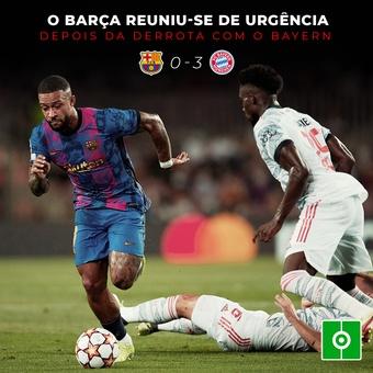 Reunião de urgência no Barça, 15/09/2021