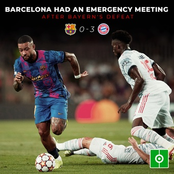 Emergency meeting at Barça, 15/09/2021