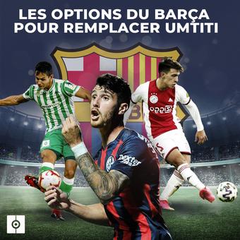 las alternativas del Barcelona para Umtiti, 15/04/2021