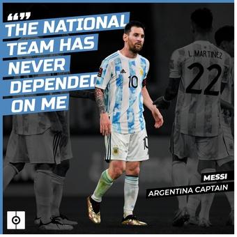 Cita Messi Argentina ing, 14/06/2021