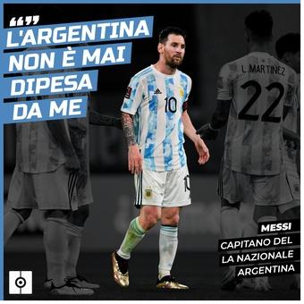 Cita Messi Argentina ita, 14/06/2021