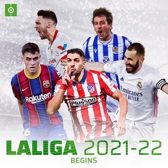 La Liga 2021-22 begins, 13/08/2021