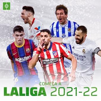 Comeca a LaLiga 2021-22, 13/08/2021