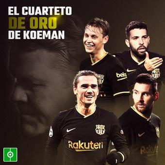 Cuarteto de Oro de Koeman, 05/02/2021