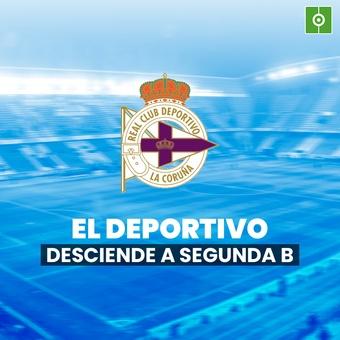 El Deportivo de la Coruña desciende a Segunda B, 16/12/2020