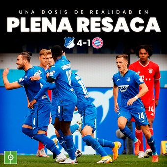 Derrota del Bayern, 12/11/2020