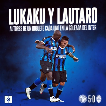 Lukaku y Lautaro, 19/11/2020