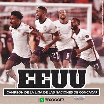 EEUU campeón Concacaf, 07/06/2021