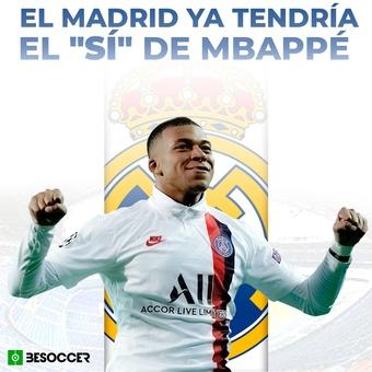 Sí de Mbappé al Madrid, 21/05/2021