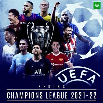CHAMPIONS LEAGUE 2021-22 BEGINS, 14/09/2021