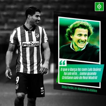 Forlán sobre Suárez, 05/03/2021