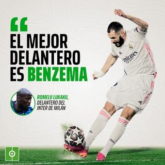 Frase de Lukaku sobre Benzema, 05/05/2021