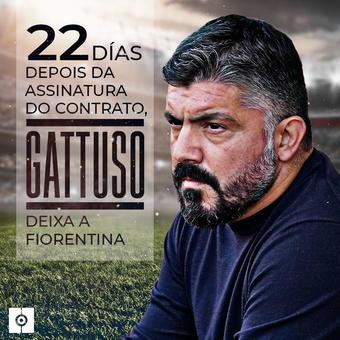 Gattuso deixa a Fiorentina, 17/06/2021