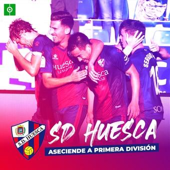 El Huesca asciende a Primera División, 16/12/2020