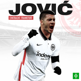 Jovic al Eintracht Frankfurt, 16/01/2021