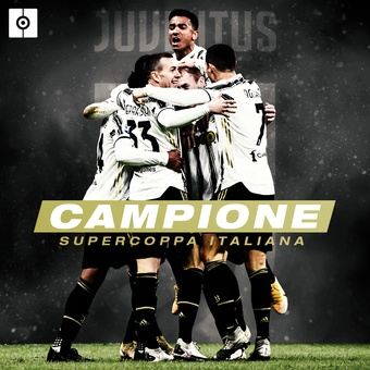 Juventus campeón Supercoppa, 21/01/2021