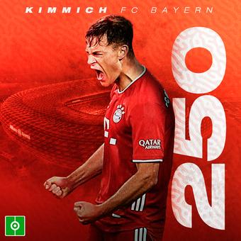 Kimmich 25 partidos Bayern, 14/03/2021