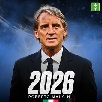 Mancini renueva hasta 2026, 18/05/2021