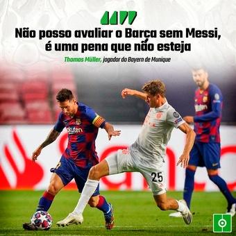 Müller sobre Messi , 12/09/2021