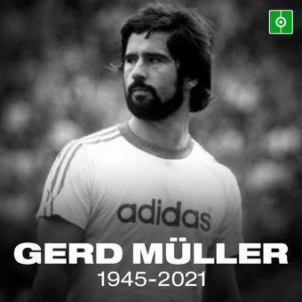 Fallece Gerd Muller, 15/08/2021