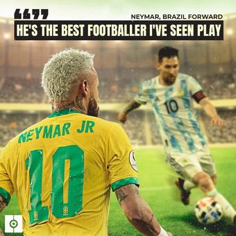 Hes the best footballer I ve seen play, 09/07/2021