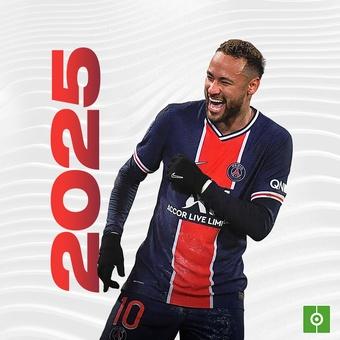 Neymar renueva con el PSG hasta el 2025, 08/05/2021