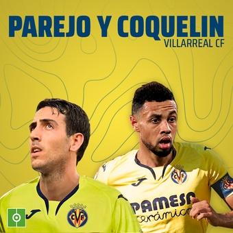 Parejo y Coquelin Villarreal CF, 26/11/2020