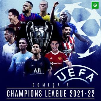 COMENÇA A CHAMPIONS LEAGUE 2021-22, 14/09/2021
