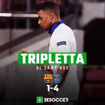 Mbappé vs Barcelona, 17/02/2021