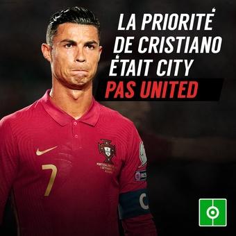 Ronaldo voulait aller à Manchester City, 10/09/2021