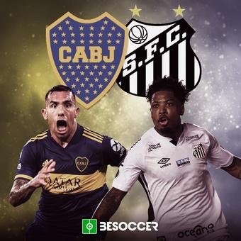 Semis Libertadores: Boca-Santos, 06/01/2021