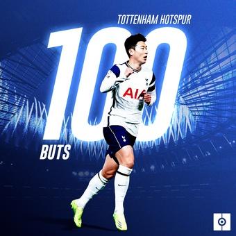Son 100 goles Tottenham, 03/01/2021