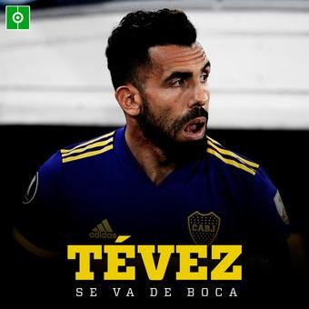 Tevez se va de Boca , 08/06/2021