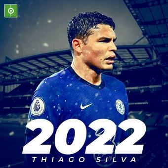 Thiago SIlva renueva hasta 2022, 04/06/2021