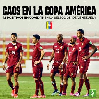 Caos en la Copa América, 12/06/2021