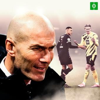 Zidane sobre Haaland y Mbappe, 20/02/2021