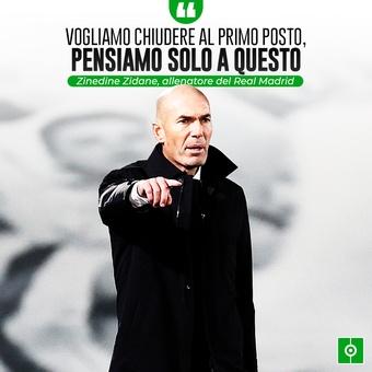Cita de Zidane, 09/12/2020
