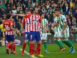 Num duelo que se jogou mais tempo perto da baliza de Oblak, foi Adán que sofreu gol. BeSoccer