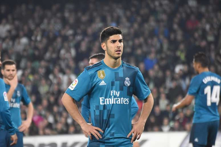 Asensio to start in Paris. BeSoccer