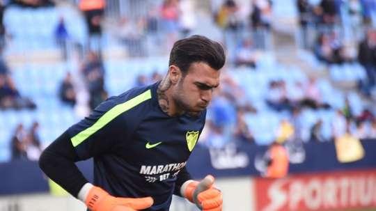 Roberto jugó en el Málaga la 2017-18. BeSoccer