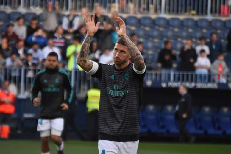 Ramos broke into an illustrious group for Madrid. BeSoccer