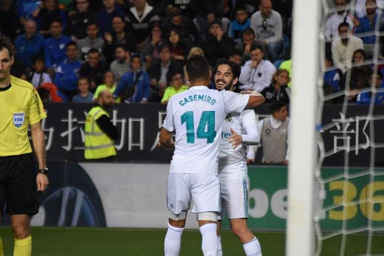 El Málaga, a intentar sorprender al Real Madrid. BeSoccer