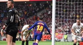 Philippe Coutinho s'illustre en tant que buteur. EFE