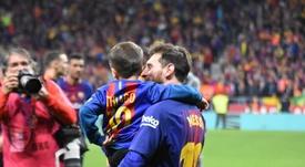 Messi anunció los jugadores favoritos de su hijo Thiago. BeSoccer