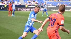 El belga podría continuar en el Málaga. BeSoccer